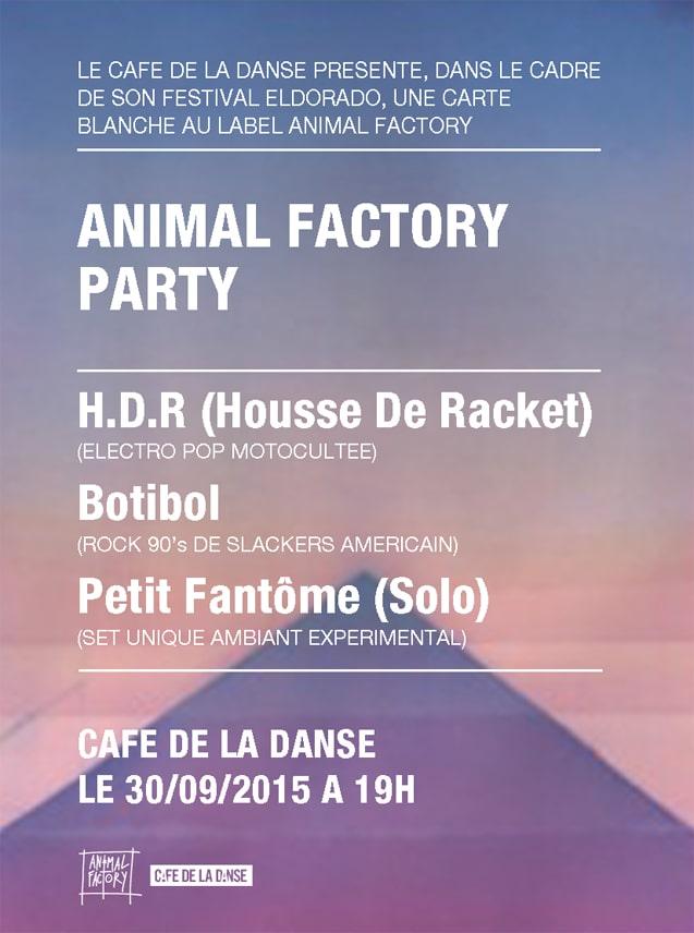 Animal factory party housse de racket botibol petit for Housse de racket alesia